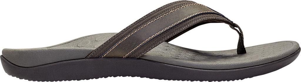 Men's Vionic Tide Toe Post Sandal, Brown, large, image 2