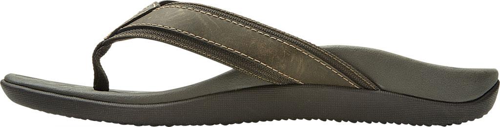 Men's Vionic Tide Toe Post Sandal, Brown, large, image 3
