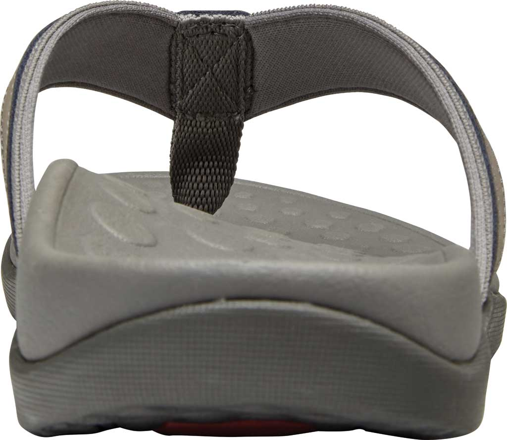 Men's Vionic Tide Toe Post Sandal, Olive Leather, large, image 4