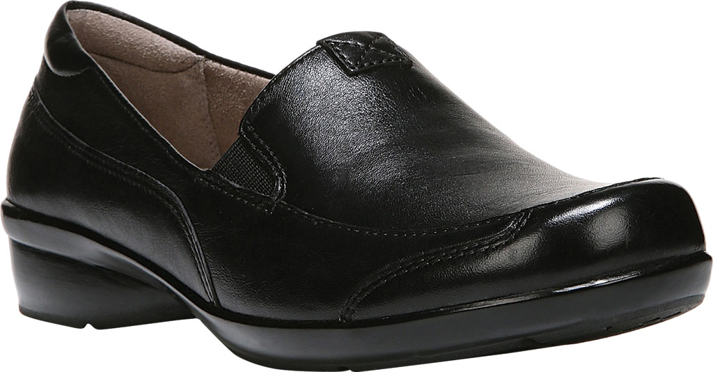 Women's Naturalizer Channing Slip-On, Black ET Sheep Premium Leather, large, image 1