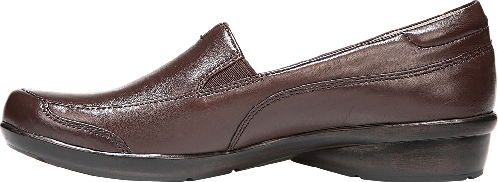 Women's Naturalizer Channing Slip-On, Bridle Brown ET Sheep Premium Leather, large, image 3