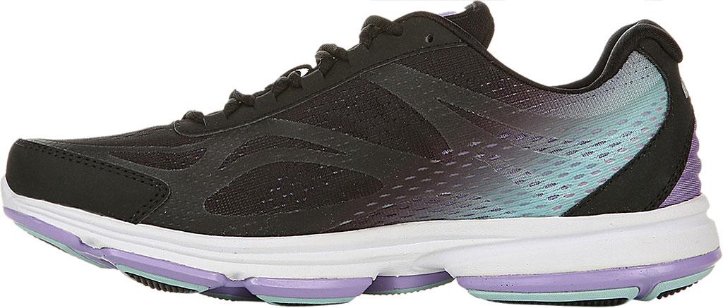 Women's Ryka Devotion Plus 2 Walking Shoe, Black/Purple, large, image 3