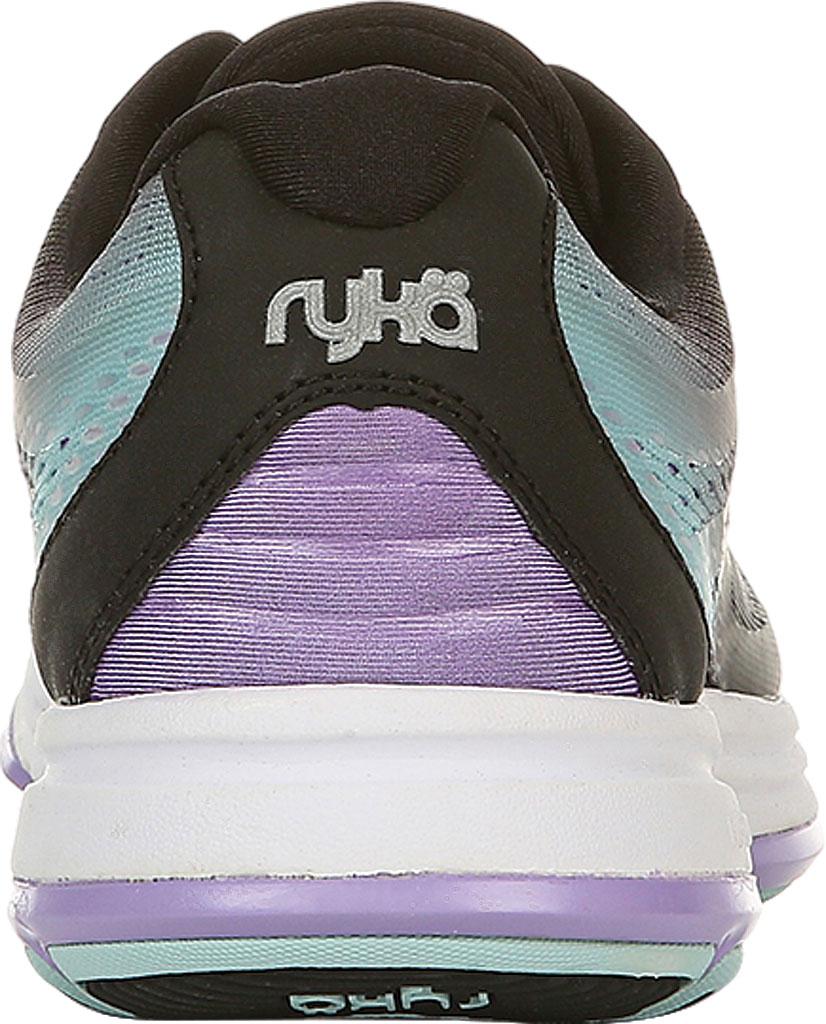 Women's Ryka Devotion Plus 2 Walking Shoe, Black/Purple, large, image 4