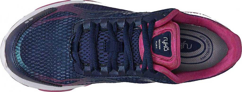 Women's Ryka Devotion Plus 2 Walking Shoe, Jet Ink Blue/Rose Violet/Chrome Silver, large, image 5