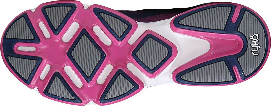 Women's Ryka Devotion Plus 2 Walking Shoe, Jet Ink Blue/Rose Violet/Chrome Silver, large, image 6