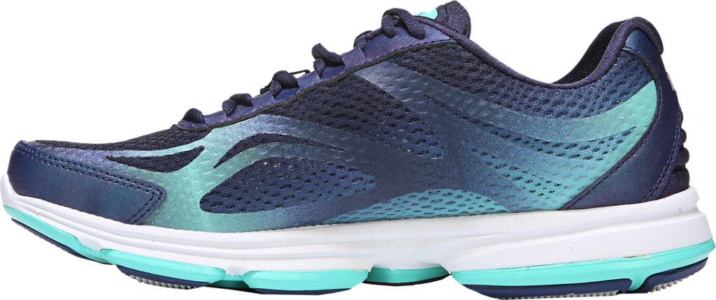 Women's Ryka Devotion Plus 2 Walking Shoe, Navy/Teal Mesh, large, image 3