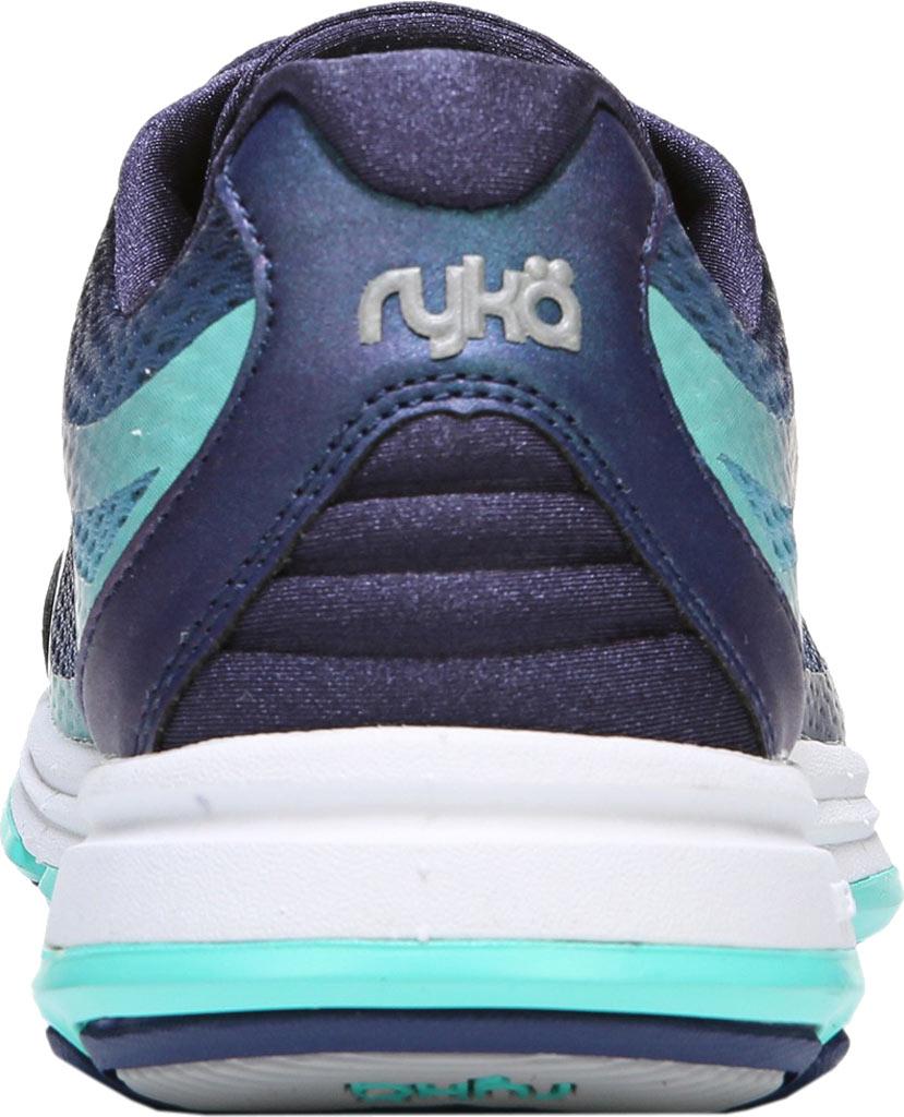 Women's Ryka Devotion Plus 2 Walking Shoe, Navy/Teal Mesh, large, image 5