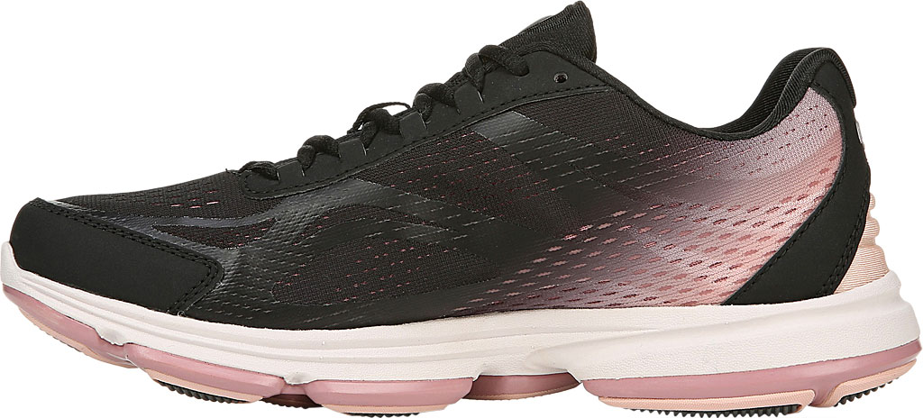 Women's Ryka Devotion Plus 2 Walking Shoe, Black/Rose, large, image 3