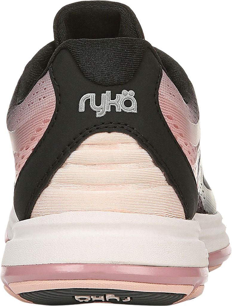 Women's Ryka Devotion Plus 2 Walking Shoe, Black/Rose, large, image 4