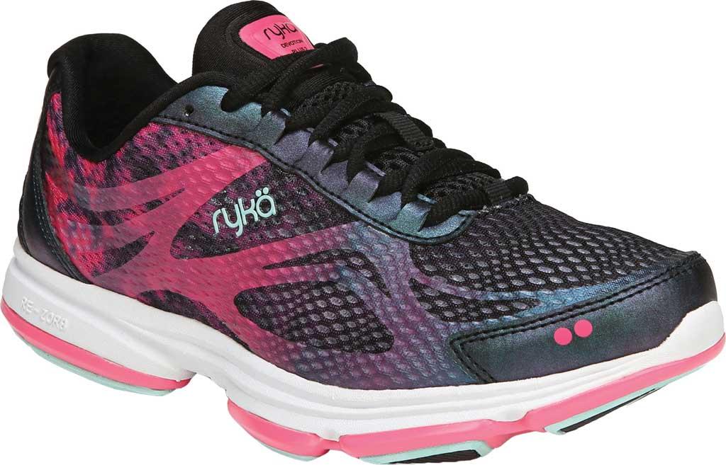 Women's Ryka Devotion Plus 2 Walking Shoe, Black, large, image 1