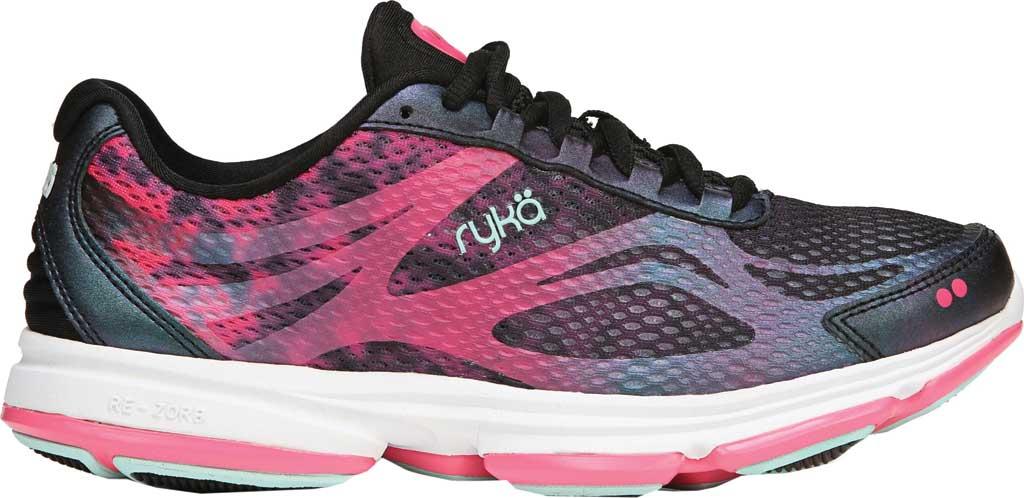 Women's Ryka Devotion Plus 2 Walking Shoe, Black, large, image 2