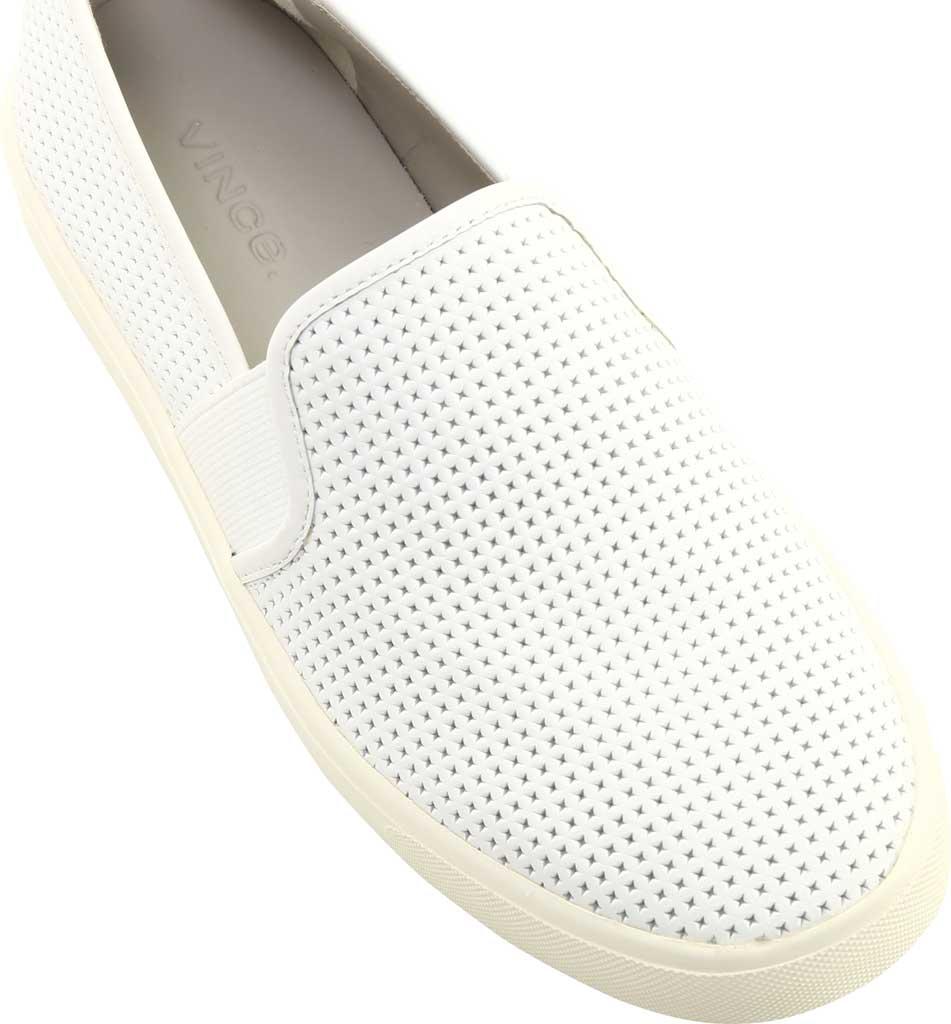 Women's Vince Blair 5 Slip-On Sneaker, White Leather, large, image 6