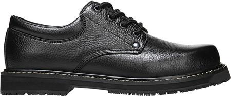 Men's Dr. Scholl's Harrington II Work Shoe, Black Leather, large, image 2