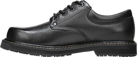 Men's Dr. Scholl's Harrington II Work Shoe, Black Leather, large, image 3