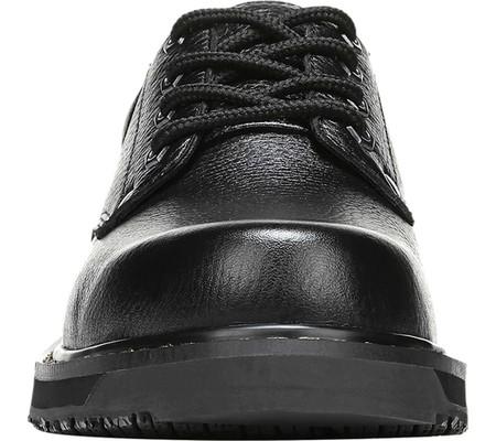 Men's Dr. Scholl's Harrington II Work Shoe, Black Leather, large, image 4