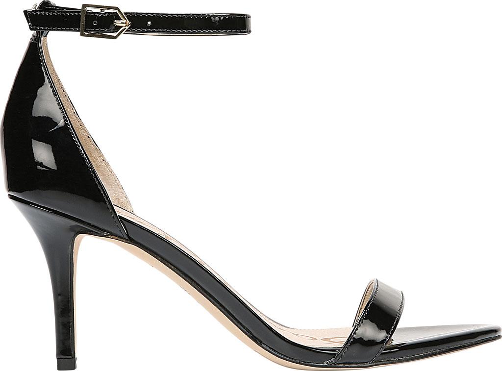 Women's Sam Edelman Patti Ankle Strap Sandal, Black Patent Synthetic, large, image 2