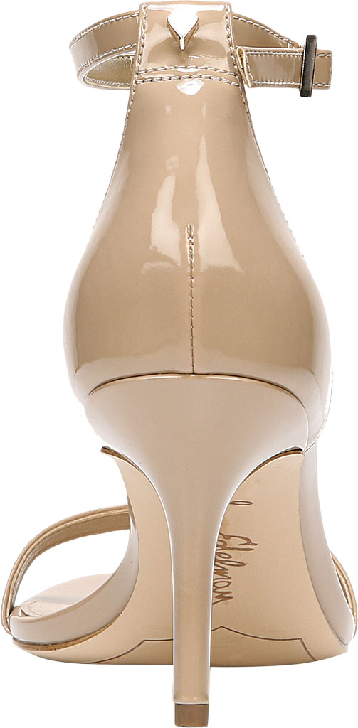 Women's Sam Edelman Patti Ankle Strap Sandal, Classic Nude Patent Synthetic, large, image 4