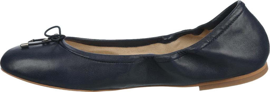 Women's Sam Edelman Felicia Ballet Flat, Navy Leather, large, image 3