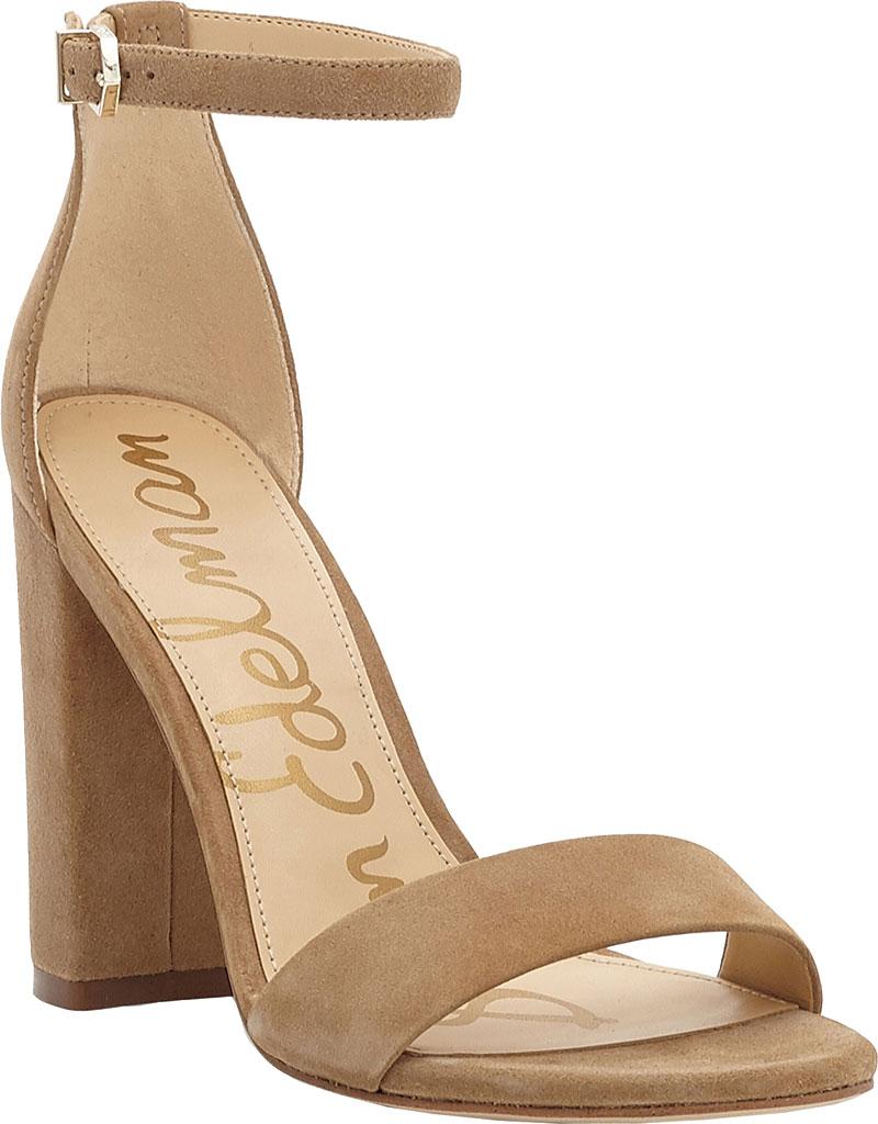 Women's Sam Edelman Yaro Ankle Strap Sandal, Oatmeal Kid Suede, large, image 1