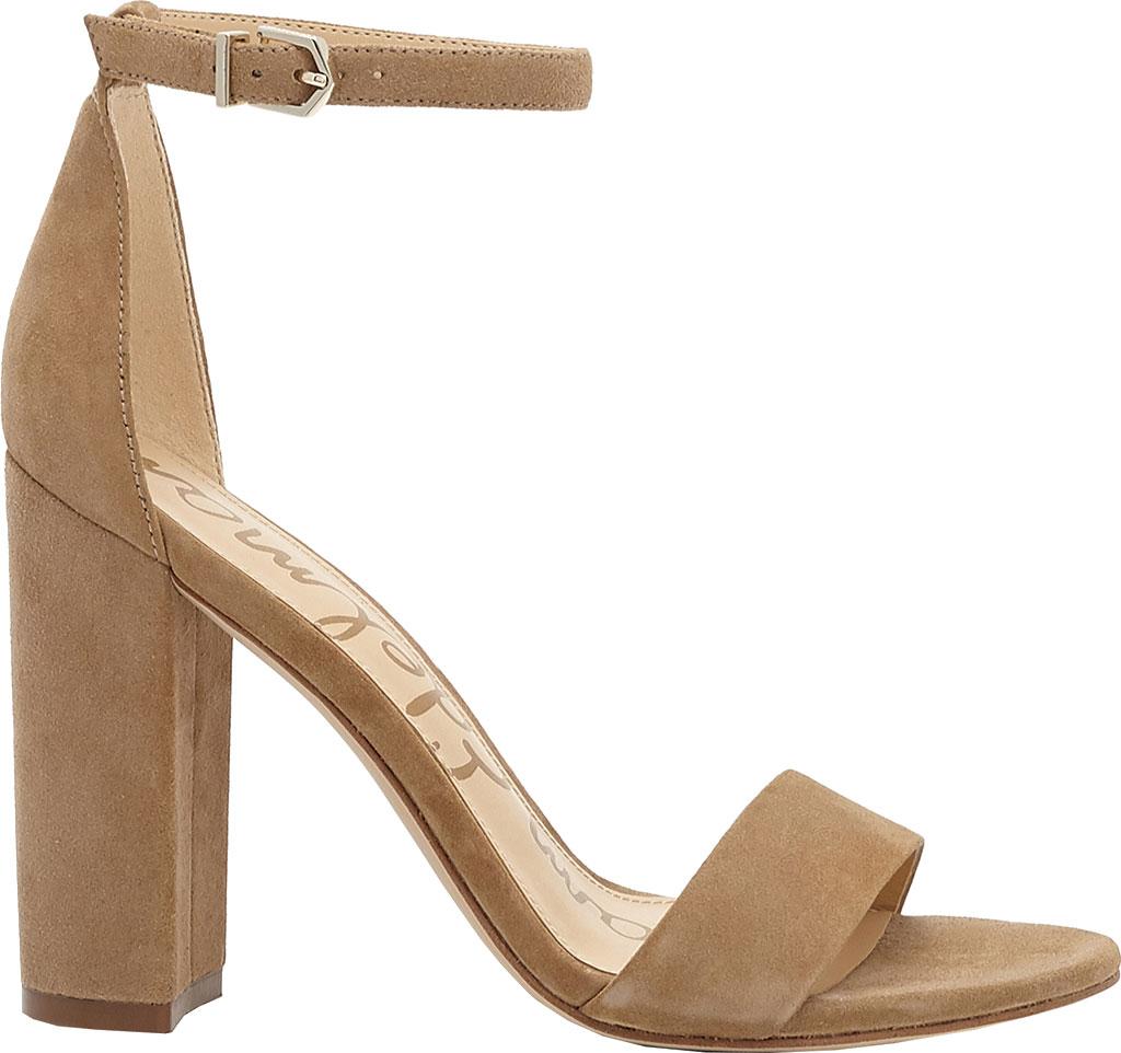 Women's Sam Edelman Yaro Ankle Strap Sandal, Oatmeal Kid Suede, large, image 2