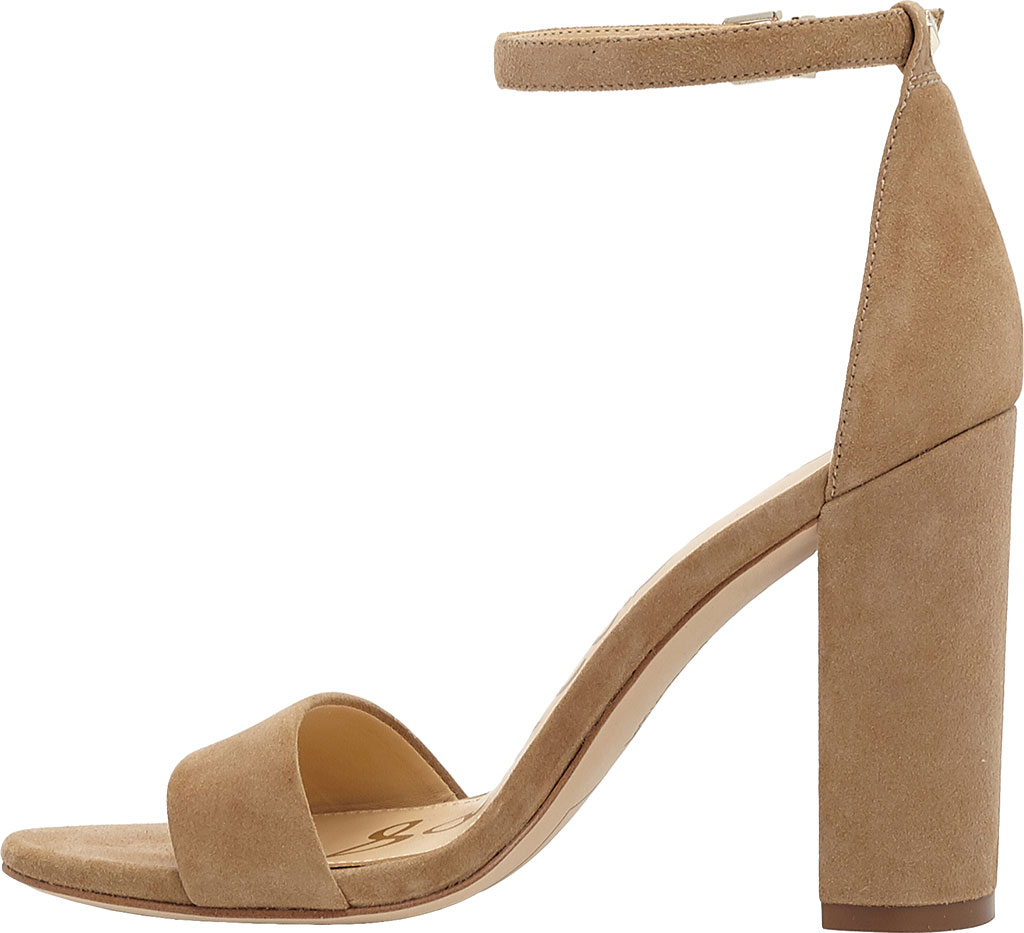 Women's Sam Edelman Yaro Ankle Strap Sandal, Oatmeal Kid Suede, large, image 3
