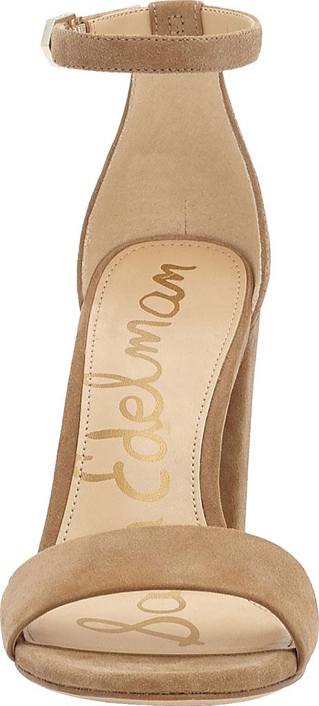 Women's Sam Edelman Yaro Ankle Strap Sandal, Oatmeal Kid Suede, large, image 4