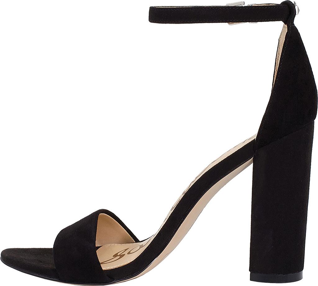 Women's Sam Edelman Yaro Ankle Strap Sandal, Black Kid Suede, large, image 3