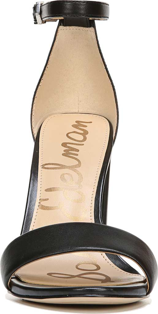 Women's Sam Edelman Yaro Ankle Strap Sandal, Black Leather, large, image 4