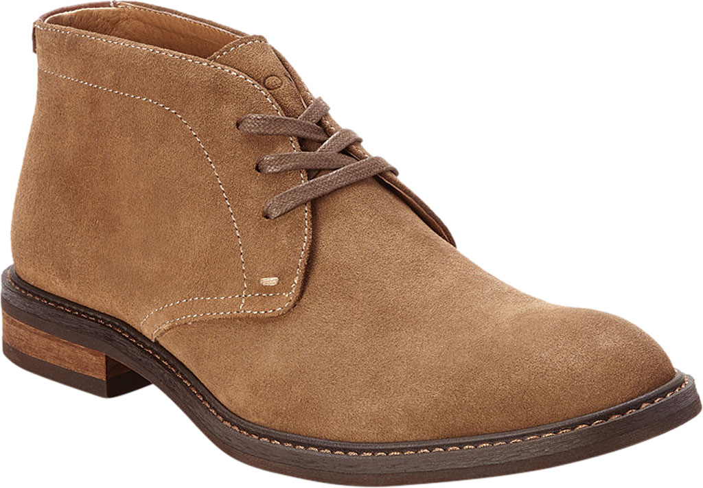 Men's Vionic Chase Chukka Boot, Tan Suede, large, image 1