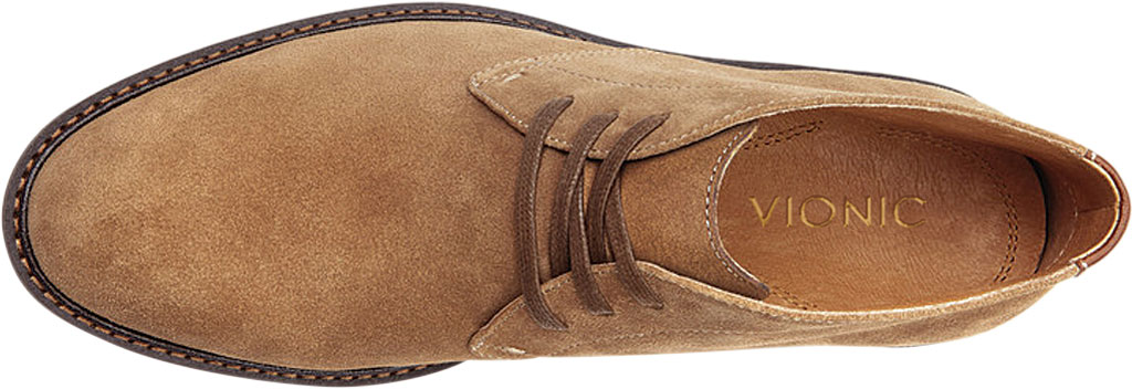 Men's Vionic Chase Chukka Boot, Tan Suede, large, image 5