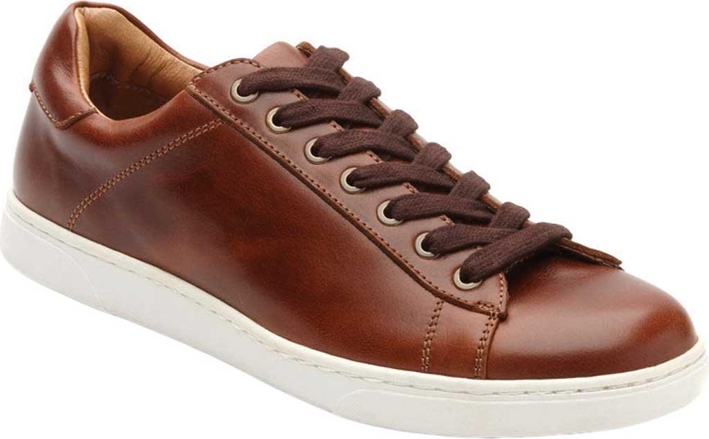Men's Vionic Baldwin Cupsole Sneaker, Dark Brown Leather, large, image 1