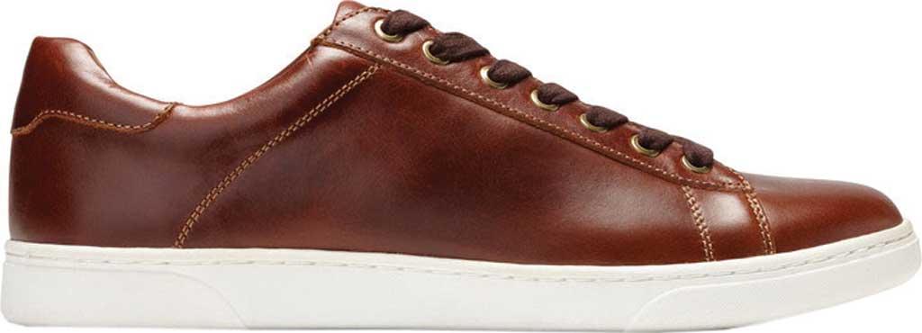 Men's Vionic Baldwin Cupsole Sneaker, Dark Brown Leather, large, image 2