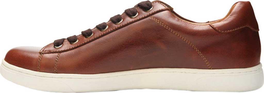 Men's Vionic Baldwin Cupsole Sneaker, Dark Brown Leather, large, image 3