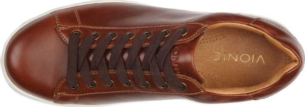 Men's Vionic Baldwin Cupsole Sneaker, Dark Brown Leather, large, image 5
