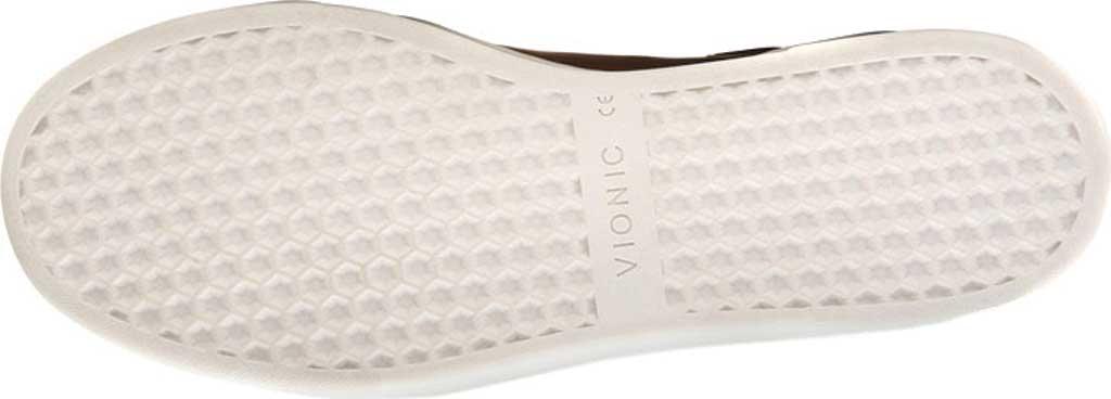 Men's Vionic Baldwin Cupsole Sneaker, Dark Brown Leather, large, image 6