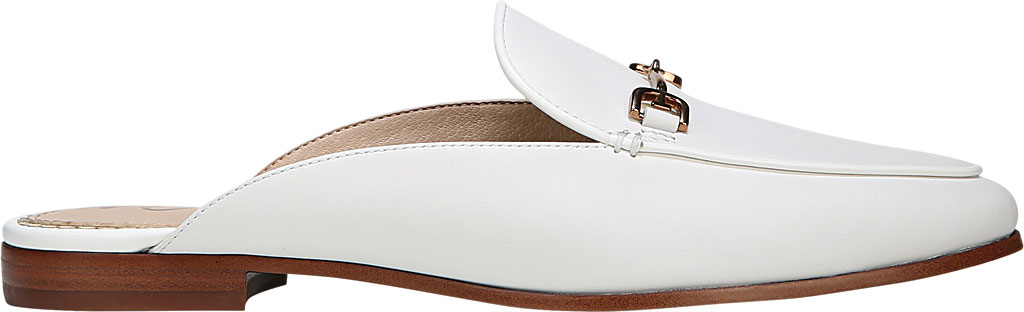 Women's Sam Edelman Linnie Loafer Mule, Bright White Dress Nappa Leather, large, image 2