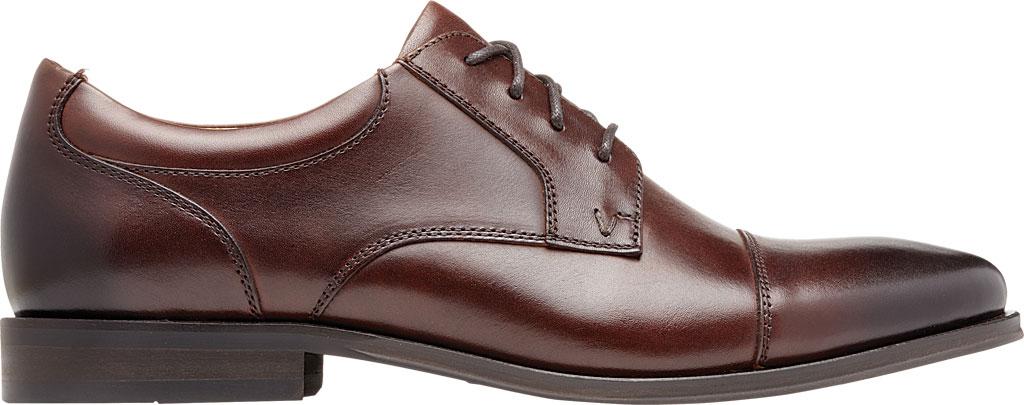 Men's Vionic Shane Oxford, Dark Brown Leather, large, image 2