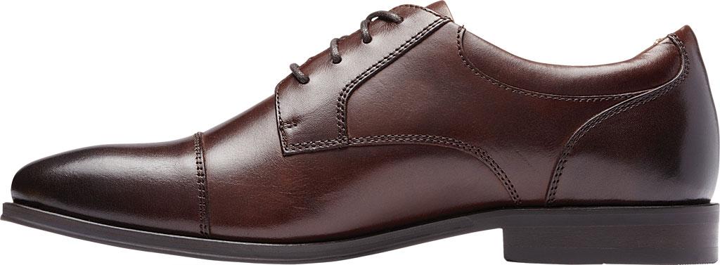 Men's Vionic Shane Oxford, Dark Brown Leather, large, image 3