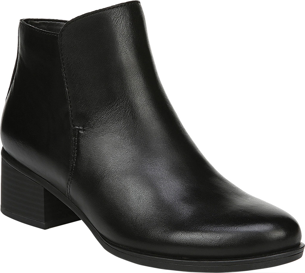 Women's Naturalizer Deena Ankle Boot, Black Waterproof Leather, large, image 1
