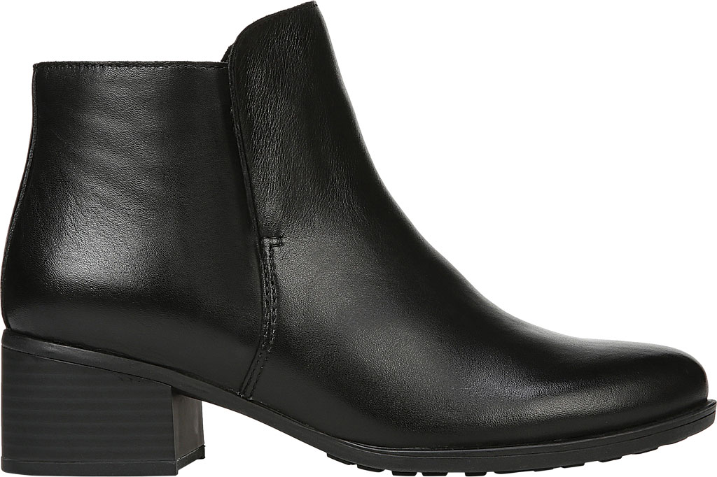 Women's Naturalizer Deena Ankle Boot, Black Waterproof Leather, large, image 2