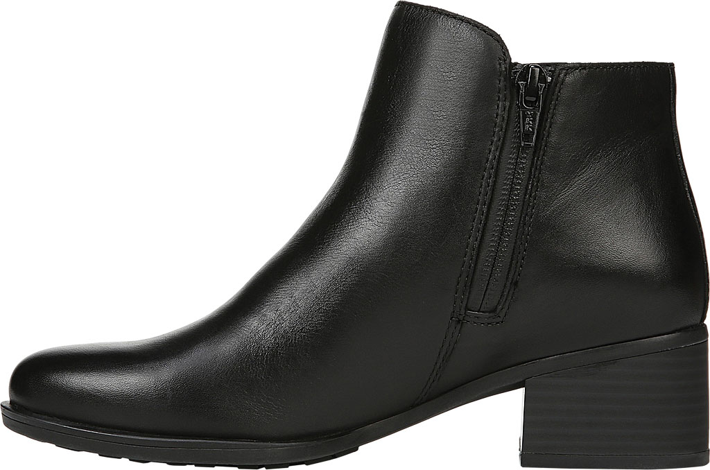 Women's Naturalizer Deena Ankle Boot, Black Waterproof Leather, large, image 3