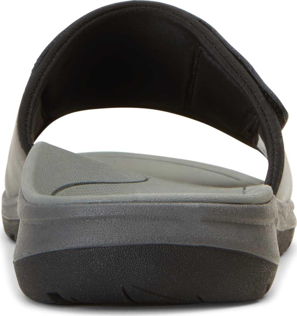 Men's Vionic Stanley Slide, Black Full Grain Leather, large, image 4