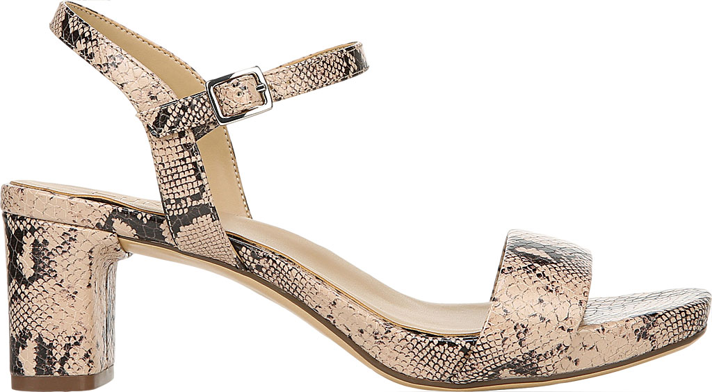 Women's Naturalizer Ivy Ankle Strap Sandal, Barely Nude Snake Leather, large, image 2