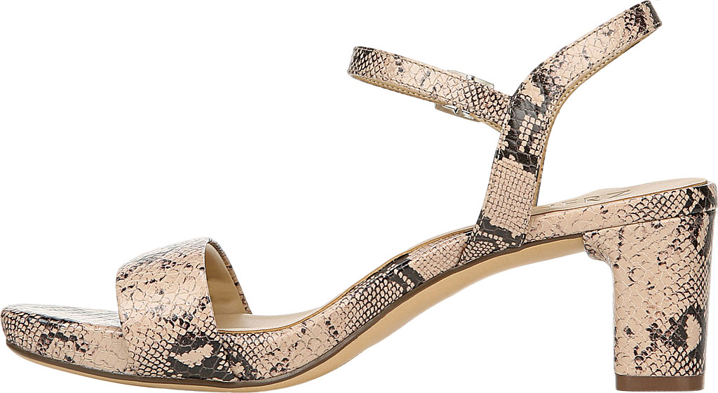 Women's Naturalizer Ivy Ankle Strap Sandal, Barely Nude Snake Leather, large, image 3