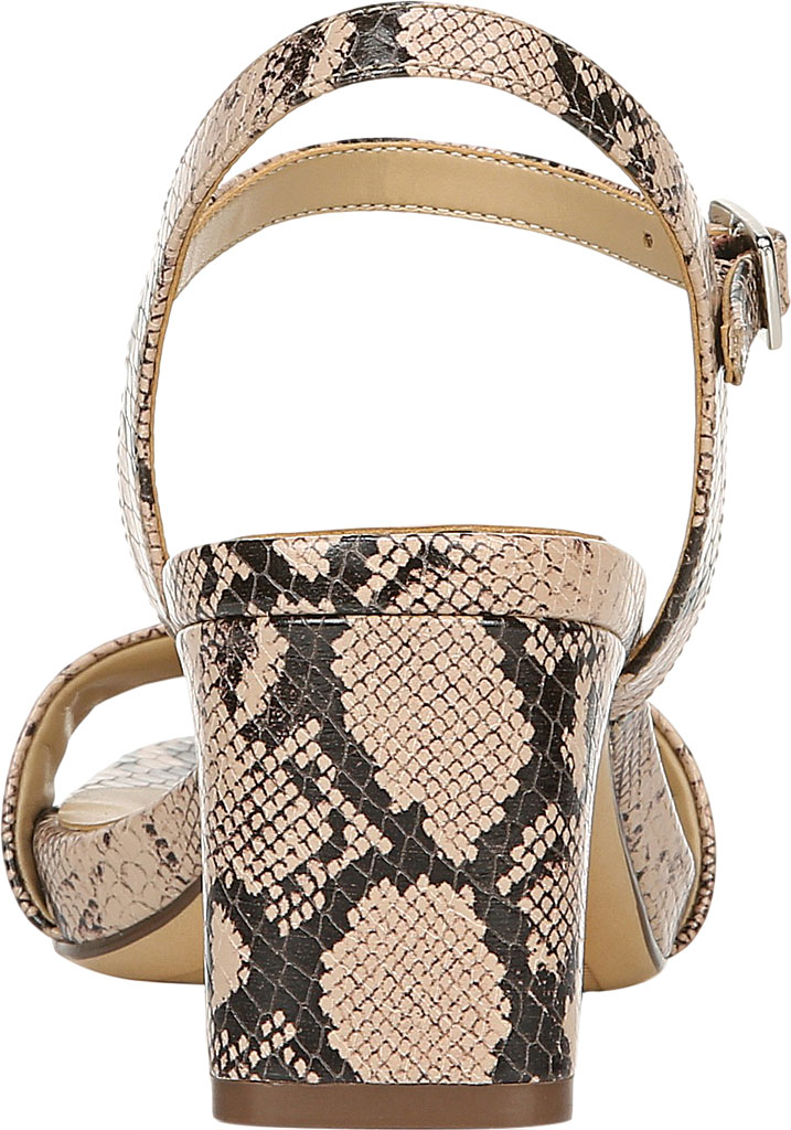 Women's Naturalizer Ivy Ankle Strap Sandal, Barely Nude Snake Leather, large, image 4