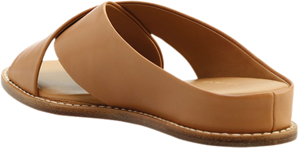 Women's Vince Fairley Leather Slide, Tan Memory Leather, large, image 4
