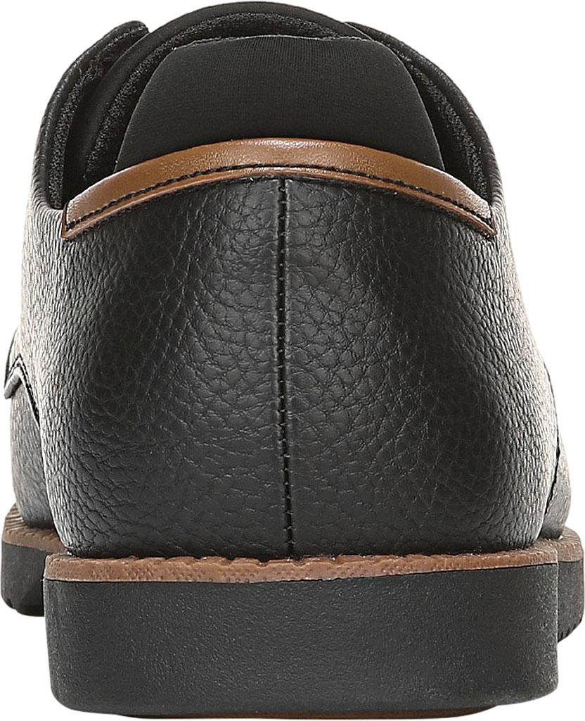 Men's Dr. Scholl's Sync Plain Toe Oxford, Black Faux Leather, large, image 4