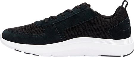 Women's Vionic Remi Sneaker, Black Textile/Leather, large, image 3