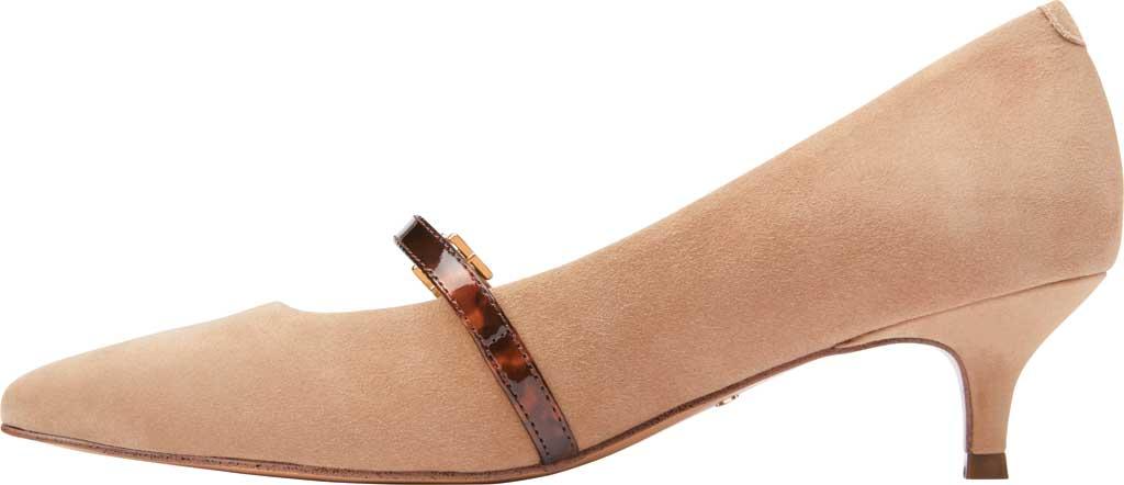 Women's Vionic Minnie Kitten Heel Shoe, Wheat Tortoise Suede, large, image 3