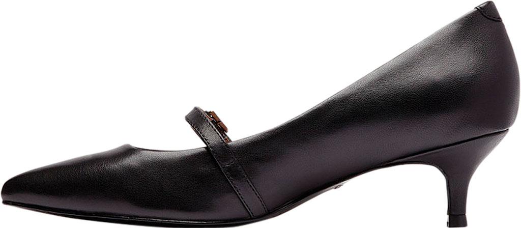 Women's Vionic Minnie Kitten Heel Shoe, Black Leather, large, image 3